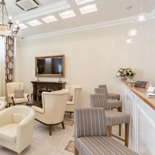 Ресепшн - дизайн интерьера и мебель на заказ